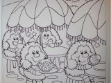 Coloring Pages Of Rainbow Brite Sprites at Rainbow Cafe Coloring Book Page Layout