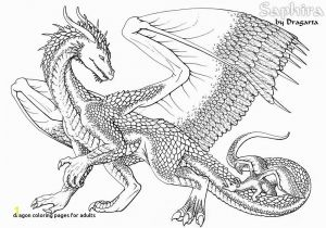 Coloring Pages Of Real Dragons Realistic Dragon Coloring Pages for Adults 20 Awesome Chinese Dragon