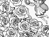 Coloring Pages Of Real Roses Best Garden Flowers Fresh Rose Coloring Books Fresh Home Coloring