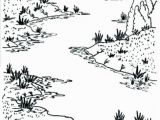 Coloring Pages Of Rivers Coloring Page A River Coloring Trend Size Stream