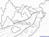 Coloring Pages Of Rivers Reliable Coloring Pages Rivers Perfect Page A River Scene Best