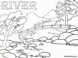 Coloring Pages Of Rivers River Coloring Pages
