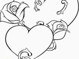 Coloring Pages Of Roses and Hearts Coloring Pages Hearts and Flowers Beautiful Flower Mandala