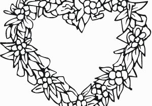 Coloring Pages Of Roses and Hearts Coloring Pages Hearts