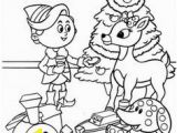 Coloring Pages Of Rudolph and Santa 551 Best Christmas Rudolph the Red Nosed Reindeer Images