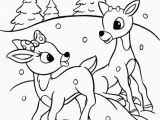 Coloring Pages Of Rudolph and Santa Cute Rudolph Coloring Pages New Santa and Rudolph Coloring Pages the