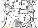 Coloring Pages Of Sandcastles 187 Best Summer Coloring Pages Images On Pinterest