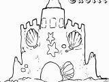 Coloring Pages Of Sandcastles Awesome Sand Castle Coloring Sheet Collection