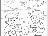 Coloring Pages Of Sandcastles Beach Coloring Best Color Your Dream Sand Castle with This Summer