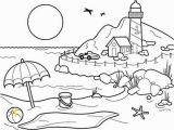 Coloring Pages Of Sandcastles Landscapes Beach Landscapes with Lighthouse Coloring Pages Beach