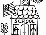 Coloring Pages Of School Supplies Back to School Drawing at Getdrawings