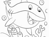 Coloring Pages Of Sharks Printable Baby Shark Coloring Page In 2020