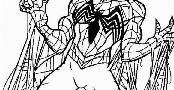 Coloring Pages Of Spiderman and Venom Spider Man Coloring Pages Venom