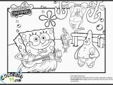 Coloring Pages Of Spongebob and Patrick Inspirational Coloring Pages Spongebob Squarepant Pdf Picolour