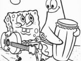 Coloring Pages Of Spongebob and Patrick Spongebob Patrick Walking Printable Coloring Page