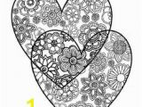 Coloring Pages Of Stars and Hearts 141 Best Hearts to Color Images On Pinterest