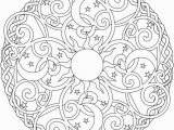 Coloring Pages Of Stars and Hearts Celestial Mandala Box Card and Coloring Page