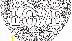 Coloring Pages Of Stars and Hearts Coloring Page World Love and Flowers Heart