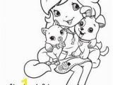 Coloring Pages Of Strawberry Shortcake and Her Friends Dn Strawberry Shortcake Coloring Page