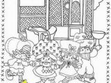 Coloring Pages Of Strawberry Shortcake and Her Friends Pinterest 806 Vintage Shortcake Coloring Books Images