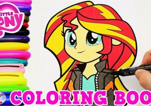 Coloring Pages Of Sunsets My Little Pony Coloring Book Sunset Shimmer Equestria Episode