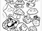 Coloring Pages Of Super Mario Brothers Games Super Mario Bros Coloring Pages Printable Kids