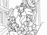 Coloring Pages Of Tangled Coloriage Raiponce