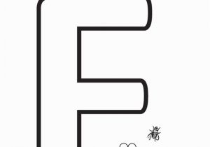 Coloring Pages Of the Letter F Color the Letter F Coloring Page Twisty Noodle