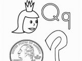 Coloring Pages Of the Letter T Q is for Coloring Page From Twistynoodle Letters