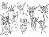 Coloring Pages Of Tinkerbell and Her Fairy Friends Tinkerbell and Fairy Friends Coloring Pages