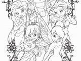 Coloring Pages Of Tinkerbell and Her Fairy Friends Tinkerbell and Friends Drawing at Getdrawings