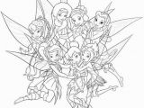 Coloring Pages Of Tinkerbell and Her Fairy Friends Tinkerbell and Her Friends Coloring Pages