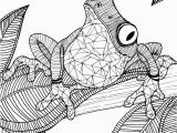 Coloring Pages Of Tree Frogs Frog Adult Colouring Page Colouring In Sheets Art & Craft