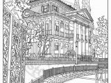Coloring Pages Of Walt Disney World Disneyland Digital Adult Coloring Page Haunted Mansion