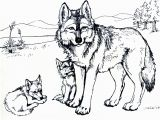 Coloring Pages Of Wolves Printable Free Wolf Coloring Pages for Adults