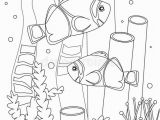 Coloring Pages Of X Ray Coloring Page with Amphiprion Nemo In the Ocean the