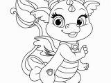 Coloring Pages Online Disney Princess Princess Pets Coloring Page