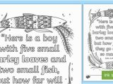 Coloring Pages Printable Bible Stories John 6 9 Mindfulness Coloring Page Teacher Made