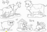Coloring Pages Printable Farm Animals Coloring Farm Animals 2 Vector Image On