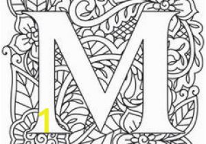 "Coloring Pages Printable Letter M 201 Best Letter ""m"" Images In 2020"