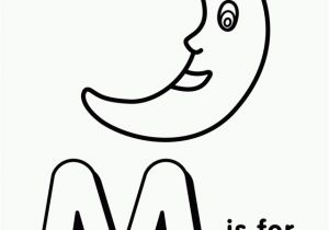 Coloring Pages Printable Letter M Pin by Mallie Vandevender Rush On Speech Path with Images