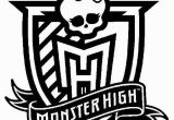 Coloring Pages Printable Monster High Monster High Monster High Logo Coloring Pages Free