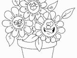 Coloring Pages Printable Of Flowers Cute Flower Coloring Pages with Images
