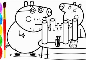 Coloring Pages Printable Peppa Pig Peppa Pig Coloring Pages Awesome Peppa Pig Castle Drawing