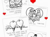 Coloring Pages Printables for Valentines Day Christian Valentine S Day Coloring Pages