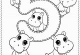 Coloring Pages Printables with Numbers Number 5 Preschool Printables Free Worksheets and