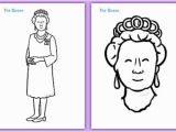 Coloring Pages Queen Elizabeth 1 Free the Queen Colouring Poster