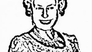 Coloring Pages Queen Elizabeth 1 Royal Queen