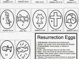 Coloring Pages Religious Easter Printable Easter Resurrection Eggs Craft Free Printables with Images