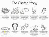 Coloring Pages Religious Easter Printable the Easter Story Printable W O Images Of Christ